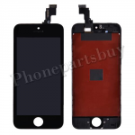 LCD with Touch Screen Digitizer and Frame for iPhone 5C (Refurbished) - Black PH-LCD-IP-00040BKA