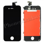 LCD and Digitizer Assembly with Frame for iPhone 4 (GSM) (High Quality) - Black PH-LCD-IP-151BKA