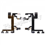 Power Flex Cable with Switch Button, Volume Button Connectors, Vibrator Motor, Dual LED Flash and Mic for iPhone 5S PH-PF-IP-00036