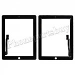 Touch Screen Digitizer for The New iPad 3 Generation/ iPad 4 ( Super High Quality ) - Black PH-TOU-IP-00008BK