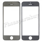 Touch Screen Glass for iPhone 5/ 5S - Electroplated Silver Mirror Effect PH-TOU-IP-00019SL