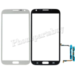 Touch Screen Glass with Touch Sensor Keyboard Flex Cable for Samsung Galaxy Note 2 N7100 (for Samsung) - White PH-TOU-SS-00056WH