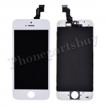 LCD with Touch Screen Digitizer and Frame for iPhone 5C - White PH-LCD-IP-00040WH