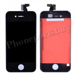 LCD with Touch Screen Digitizer and Frame for iPhone 4 (GSM)  (6.0 version of the above) - Black PH-LCD-IP-151BKHV