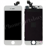 LCD with Touch Screen Digitizer and Frame for iPhone 5-White PH-LCD-IP-00018WH