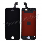 LCD with touch screen Digitizer and frame for iPhone 5C(Super High Quality)-Black PH-LCD-IP-00040BKAA