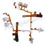 Audio Jack Flex Cable With Brackets for iPhone 3G - Black PH-PF-IP-197BK