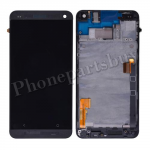 LCD with Touch Screen Digitizer and Bezel Frame and Sim Card Holder For HTC One 801e M7(for HTC)-Black PH-LCD-HT-00055BK