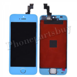 LCD with Touch Screen Digitizer, Frame & Home Button for iPhone 5S-Light Blue PH-LCD-IP-00045LB