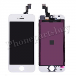 LCD with touch screen Digitizer and frame for iPhone 5S/ iPhone SE (for Silver/Gold)(Super High Quality)-White PH-LCD-IP-00039WHAA