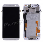 LCD with Touch Screen Digitizer and Bezel Frame for HTC One M8(for HTC)-White PH-LCD-HT-00057WH