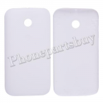Battery Cover for Motorola Moto E XT1021/ XT1022/ XT1025(for M)-White PH-HO-MT-00048WH