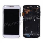 LCD with Touch Screen Digitizer, Bezel Frame and Side Button for Samsung Galaxy S2 T989(for T-Mobile) -White PH-LCD-SS-00122WH