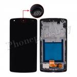 LCD with Touch Screen Digitizer and Bezel Frame for LG Google Nexus 5 D820/ D821(Black Speaker Hole)-Black PH-LCD-LG-00079BKBK
