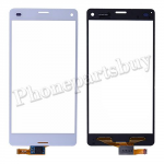 Touch Screen Digitizer for Sony Z3 mini/ Z3 Compact D5803/ D5833(for SONY)-White PH-TOU-SE-00012WH