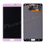 LCD with Touch Screen Digitizer for Samsung Galaxy Note 4 N910/ N910M/ N910F/ N910S/ N910C/ N910A/ N910V/ N910P/ N910R/ N910T/ N910W8  (for SAMSUNG, No Stylus Pen Flex Cable)-Pink PH-LCD-SS-00126PK
