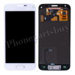 LCD with Touch Screen Digitizer and Home Button for Samsung Galaxy S5 mini G800/ G800H/G800F/ G800A/ G800R4(for SAMSUNG)-White PH-LCD-SS-00116WH