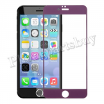 Colorful Tempered Glass Screen Protector for iPhone 6 Plus(5.5 inches)(0.26mm)-Purple MT-SP-IP-00111PL