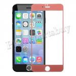 Colorful Tempered Glass Screen Protector for iPhone 6 Plus(5.5 inches)(0.26mm)-Pink MT-SP-IP-00111PK