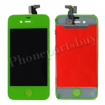 LCD with Touch Screen Digitizer for iPhone 4 (GSM)-Green PH-LCD-IP-151GR