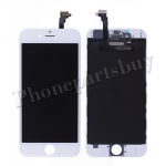 LCD with Touch Screen Digitizer with Frame for iPhone 6(4.7 inches) (Refurbished) -White PH-LCD-IP-00056WHA