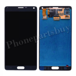 LCD with Touch Screen Digitizer and Stylus Pen Flex Cable for Samsung Galaxy Note 4 N910/ N910M/ N910F/ N910S/ N910C/ N910A/ N910V/ N910P/ N910R/ N910T/ N910W8(OEM) - Black PH-LCD-SS-00124BK