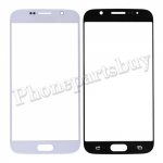 Front Screen Glass Lens for Samsung Galaxy S6 G920/ G920F/ G920I/ G920X/ G920A/ G920V/ G920P/ G920T/ G920R4/ G920W8(for SAMSUNG) - White PH-TOU-SS-00116WH