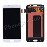 LCD with Touch Screen Digitizer for Samsung Galaxy S6 G920/ G920F/ G920I/ G920X/ G920A/ G920V/ G920P/ G920T/ G920R4/ G920W8(OEM) - White PH-LCD-SS-00134WH