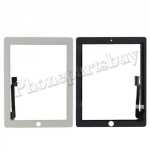 Touch Screen Digitizer for The New iPad 3 Generation/ iPad 4-White PH-TOU-IP-00005WH