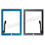Touch Screen Digitizer  for The New iPad 3 Generation/ iPad 4-Blue PH-TOU-IP-00005BU