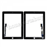 Touch Screen Digitizer for The New iPad 3 Generation/ iPad 4-Black PH-TOU-IP-00005BK
