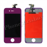 LCD with Touch Screen Digitizer for iPhone 4 (GSM)-Purple PH-LCD-IP-151PL