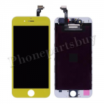 LCD with Touch Screen Digitizer, Frame for iPhone 6(4.7 inches)-Yellow PH-LCD-IP-00056YE
