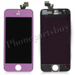 LCD with Touch Screen Digitizer for iPhone5-Purple PH-LCD-IP-00033PL