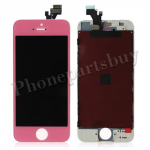 LCD Screen Display with Touch Digitizer Panel, White Frame  for iPhone 5-Pink PH-LCD-IP-00033PK