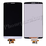LCD with Touch Screen Digitizer for LG G3 D850/ D851/ D855/ VS985/ LS990/ F400(for LG)(Hight Quality) - White PH-LCD-LG-00072WHA