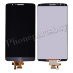 LCD with Touch Screen Digitizer for LG G3 D850/ D851/ D855/ VS985/ LS990/ F400(for LG)(Hight Quality) - Gray PH-LCD-LG-00072GYA