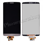 LCD with Touch Screen Digitizer for LG G3 D850/ D851/ D855/ VS985/ LS990/ F400(for LG)(Hight Quality) - Gold PH-LCD-LG-00072GDA