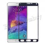 Titanium Alloy Tempered Glass Screen Protector for Samsung Galaxy Note 4 N910/ N910M/ N910F/ N910S/ N910C/ N910A/ N910V/ N910P/ N910R/ N910T/ N910W8(0.26mm) - Black MT-SP-SS-00129BK