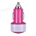 2000mA USB Car Charging for iPad-Hot Pink MT-EI-IP-00066HP