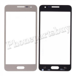 Front Screen Glass Lens for Samsung Galaxy A3 A300/ A300X/ A300F(for SAMSUNG) - Champagne Gold PH-TOU-SS-00122GD