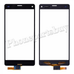 Touch Screen Digitizer for Sony Z3 mini/ Z3 Compact D5803/ D5833(for SONY)-Black PH-TOU-SE-00012BK