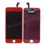 LCD Screen Display with Touch Digitizer Panel and Red Frame for iPhone 6(4.7 inches) - Red PH-LCD-IP-00056RDB