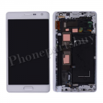 LCD Screen Display with Touch Digitizer Panel and Bezel Frame for Samsung Galaxy Note Edge N915/ N915G/ N915D/ N915F/ N915A/ N915T/ N915V/ N915P/ N915R(for SAMSUNG) - Frost White PH-LCD-SS-00150WH