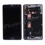 LCD Screen Display with Touch Digitizer Panel and Bezel Frame for Samsung Galaxy Note Edge N915/ N915G/ N915D/ N915F/ N915A/ N915T/ N915V/ N915P/ N915R(for SAMSUNG) - Charcoal Black PH-LCD-SS-00150BK
