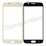 Front Screen Glass Lens for Samsung Galaxy S6 G920/ G920F/ G920I/ G920X/ G920A/ G920V/ G920P/ G920T/ G920R4/ G920W8(for SAMSUNG)(High Quality) - Gold Platinum PH-TOU-SS-00116GD