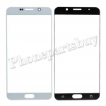 Front Screen Glass Lens for Samsung Galaxy Note 5 N920/ N920F/ N920A/ N920V/ N920P/ N920T/ N920R4/ N920W8(for SAMSUNG) - White PH-TOU-SS-00136WH