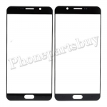 Front Screen Glass Lens for for Samsung Galaxy Note 5 N920/ N920F/ N920A/ N920V/ N920P/ N920T/ N920R4/ N920W8(for SAMSUNG) - Black PH-TOU-SS-00136BK