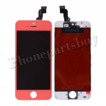 LCD, Touch Screen Digitizer & LCD Frame for iPhone 5C-Pink PH-LCD-IP-00046PK