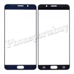 Front Screen Glass Lens for Samsung Galaxy Note 5 N920/ N920F/ N920A/ N920V/ N920P/ N920T/ N920R4/ N920W8(for SAMSUNG)(High Quality) - Blue PH-TOU-SS-00136BUA